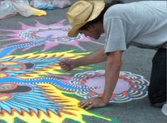Joe Mangrum. Unbelievable sand artist.