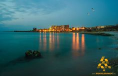 Batroun at night Batroun à noite  #البترون ليلاً #WeAreLebanon #Lebanon By Sam Fakhoury