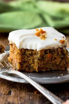 Best Moist Carrot Cake Recipe No Pineapple.Pineapple Carrot Cake With Cream Cheese Frosting Sally's . The BEST Carrot Cake Cupcakes Cravings Happen. The Best Ever Carrot Cake With Cream Cheese Frosting The . Moist Carrot Cakes, Best Carrot Cake, Carrot Cake Bars, Homemade Cake Recipes, Baking Recipes, Homemade Breads, Bread Recipes, Easy Recipes, Food Cakes