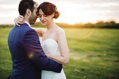 Bride and groom in the outdoor space at Mythe Barn - © Samuel Docker Photography