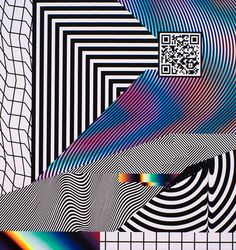 Impossible Collaboration, Felipe Pantone in Graphic Plakat Design, Web Design, Glitch Art, Art Graphique, Psychedelic Art, Grafik Design, Op Art, Graphic Design Inspiration, Oeuvre D'art
