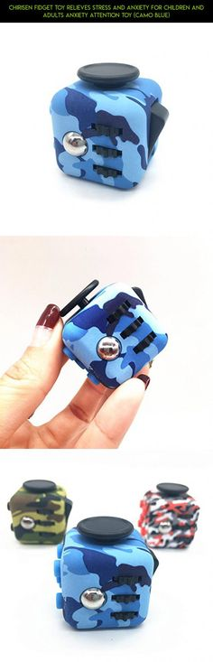 CHIRISEN Fidget Toy Relieves Stress And Anxiety for Children and Adults Anxiety Attention Toy (Camo Blue) #technology #fidget #shopping #parts #plans #products #camera #blue #gadgets #drone #cube #kit #tech #racing #camo #fpv