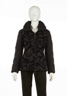 Un piumino molto speciale, lavorato come un abito da sera, da indossare tutti i giorni http://blog.carlaferroni.it/?p=3074