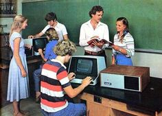 Remember the floppy disk?!?!?      Retro Computer Ads, this is what we had in high school in the 80's