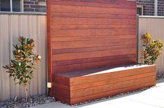 Kwila/Merbau garden or courtyard bench seat & storage box   Plants & Pots   Gumtree Australia Maribyrnong Area - Footscray   1054687517...
