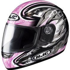 HJC Hellion Youth Girls CS-Y Full Face Motorcycle Helmet – Color: MC-8, Size: Large | Motorcycle Helmet Reviews