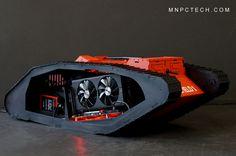MNPCTECH AMD BATTLEFIELD 1 Tank PC Case Mod