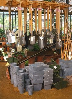 Petersham Nurseries, Richmond Surrey UK- I would love to go shopping here!
