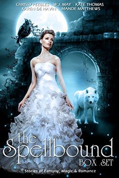 The Spellbound Box Set: 7 Fantasy stories including Vampires, Werewolves, Steam Punk, Magic, Romance, Blood Feuds, Alphas, Medieval Queens, Celtic Myths, Time Travel, and More! by Mande Matthews http://www.amazon.com/dp/B00XCN9AG2/ref=cm_sw_r_pi_dp_Z8gFvb0K91GAA