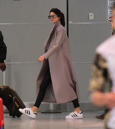 wanna-be-kardashian:  April 25th, 2015 - Kendall arriving at JFK