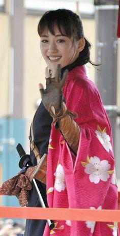 Ayase Haruka (綾瀬はるか) 1985-, Japanese Actress