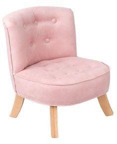 Kreslá, sedačky, taburetky / Detské dizajnové kreslo Princess - ružové