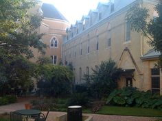 St Anne's Courtyard, Our Lady of the Lake University