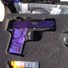 My purple pearl :) Sig Sauer P238 .380 (yes I really own it) EG