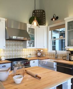 Farmhouse Kitchen - Street of Dreams - The Inspired Room blog