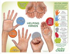 Use your Hands to control Food Portion Sizes