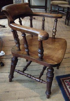 19th century captains chair