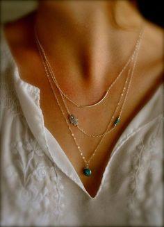 3 Layers Chain Hamsa Fatima Hand Evil Eye Turquoise Choker Collar Necklace Gifts #Unbranded #Choker