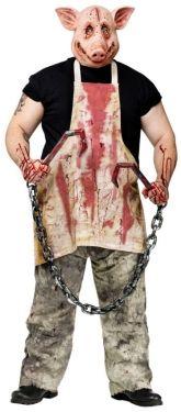 Men's Pig Butcher Costume