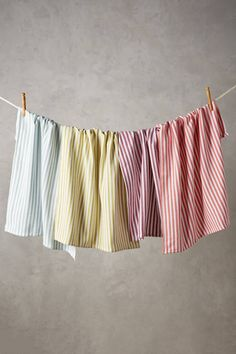 Discover unique kitchen linens including dish cloths, tea towels, aprons and more at Anthropologie. Kitchen Linens, Kitchen Towels, Kitchen Decor, Decorating Kitchen, Kitchen Stuff, Kitchen Gadgets, Kitchen Dinning, Kitchen Products, Kitchen Design