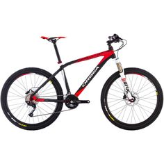 Orbea Alma H30 Complete Mountain Bike - The Orbea Alma H30 Complete Mountain Bike is available in four sizes from Small to X-Large and in the color Black/red.- Wow the price is Way Good #Orbea #mountainbike #BikeSale