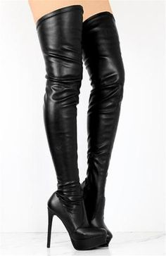 9812033e3dadd8 Sestito The Latest 2018 Female Sexy Thick Platform Round Toe Over-the-knee  Boots Ladies Super High Heels Zip Winter Long Boots