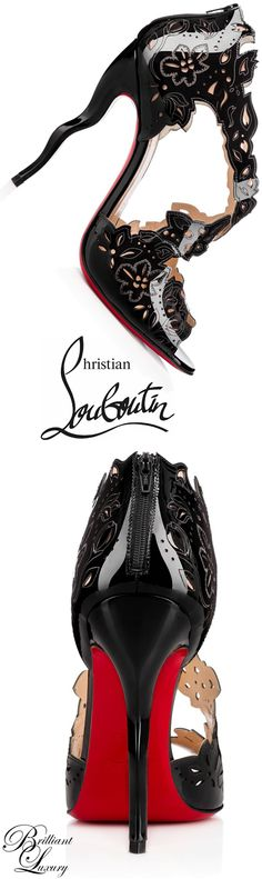 Brilliant Luxury * Christian Louboutin 'Decoupadiva' 2015