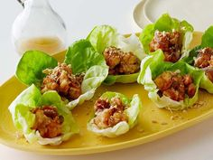 Wraps make a great summer appetizer since they're really light and fun to eat. Try these Bibb Lettuce and Shrimp Wraps tossed in a lemony vinaigrette and a sprinkling of crushed peanuts.