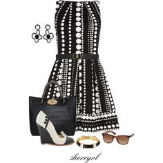 """""""Dorothy Perkins Dress And Mulberry Bag"""" by sherryvl on Polyvore"""