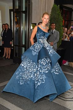 The Most Fairy Tale Perfect Gowns from the Met Gala--wow, that dress is interesting
