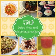50 Delicious Dairy Free Recipes - Thought of you when I saw this @Jen Curry - a lot of them look yummy and possibly things  you can eat??