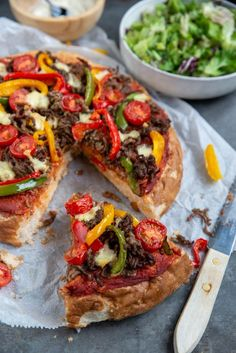 Quiche, Pizza Vans, Grilled Sandwich, Vegetable Pizza, Tapas, A Food, Barbecue, Sandwiches, Oven