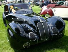 1936 DELAHAYE 135 COMPETITION COUPE   By Douglas Wilkinson