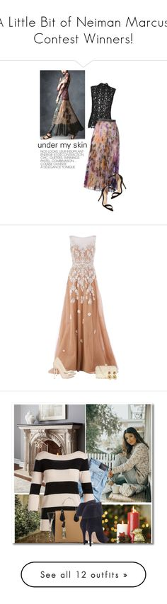 """""A Little Bit of Neiman Marcus!"" Contest Winners!"" by colierollers ❤ liked on Polyvore featuring GINTA, Helmut Lang, Christopher Kane, Neiman Marcus, lace, longSkirt, simplechic, Zuhair Murad, Casadei and GUESS by Marciano"