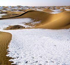 Taklamakan Desert at Xinjiang China