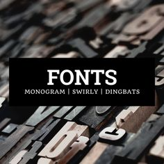 Find fonts that work with your Cricut and Silhouette cutting machines. Monogram Fonts, Swirly Fonts, Dingbat Fonts, and more. Swirly Fonts, School Fonts, Dingbat Fonts, Halloween Fonts, Silhouette Fonts, Christmas Fonts, Find Fonts, Cricut Fonts, Handwriting Fonts