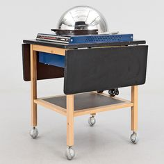Microwave oven 1969-style. Cupol, Carl-Arne Breger, Husqvarna Vapenfabrik