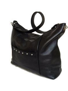 Hey, I found this really awesome Etsy listing at https://www.etsy.com/listing/117845594/classic-hobo-handbag-black-genuine