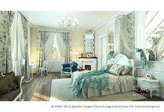 Дизайн детской (девичьей) комнаты