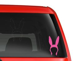 Bob's Burgers Louise Vinyl Decal by FandomHearts912 on Etsy