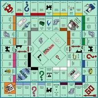 Inner Track values based on values from Super Add-On Monopoly. Outer Track values computed by based on values of Monopoly: Mega Edition. Old Board Games, Board Game Geek, Vintage Board Games, Old School Board Games, Monopoly Board, Monopoly Game, Monopoly Crafts, Custom Monopoly, Mesa Retro