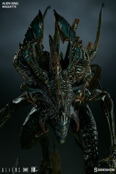 The Alien King Maquette is available at Sideshow.com for fans of Alien and Sci-Fi Collectibles.