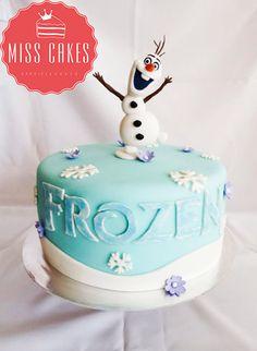 Frozen Cake, Children Cake. Torta Frozen