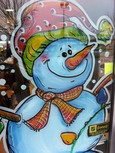SNOWMEN WINDOW PAINTINGS|SNOW WOMEN & SNOW FAMILYWINDOW ART: (Be sure to book well in advance – Christmas is the busiest season for Window Paintings.) WE DESIGN. DRAW. PAINT & CREATE SNOWMAN THEMED CHRISTMAS WINDOWS! IT'S…