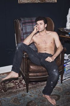 Gorgeous James Deen. Totally unfair that there is only one of this man