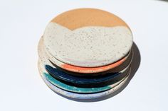 Smudge Plates for Pushing Beauty by Michelle Luu Pottery