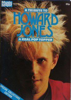HOWARD JONES - MUSIC MAJOR  MAGAZINE 1984