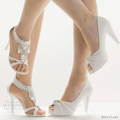 Rosa Clara. Wedding shoes.