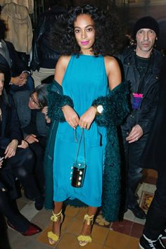 25 photos of Solange Knowles' most colorful and stylish red carpet looks.