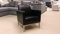 Iina-tuoli Old saddle -nahalla Recliner, Armchair, Lounge, Furniture, Home Decor, Chair, Sofa Chair, Airport Lounge, Single Sofa